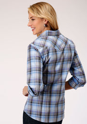 Roper Women's - Amarillio Collection Shirt 03-050-0278-2079 BU back