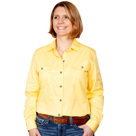 Just Country Workshirt Women's Brooke Butter front