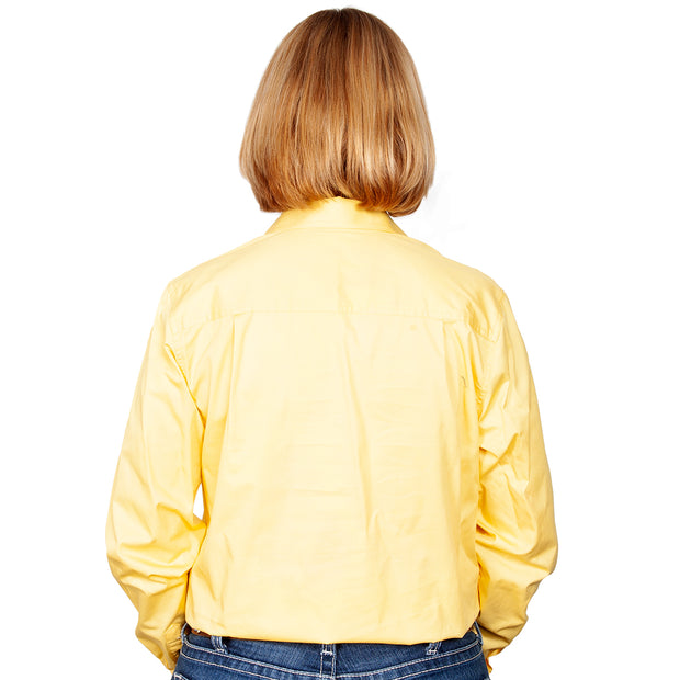 Just Country Workshirt Women's Brooke Butter back