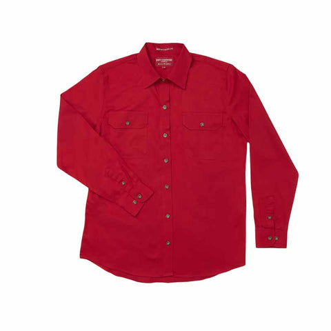 Just Country Workshirt Women's Brooke Chilli