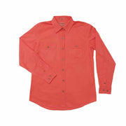 Just Country Workshirt Women's Brooke Hot Coral