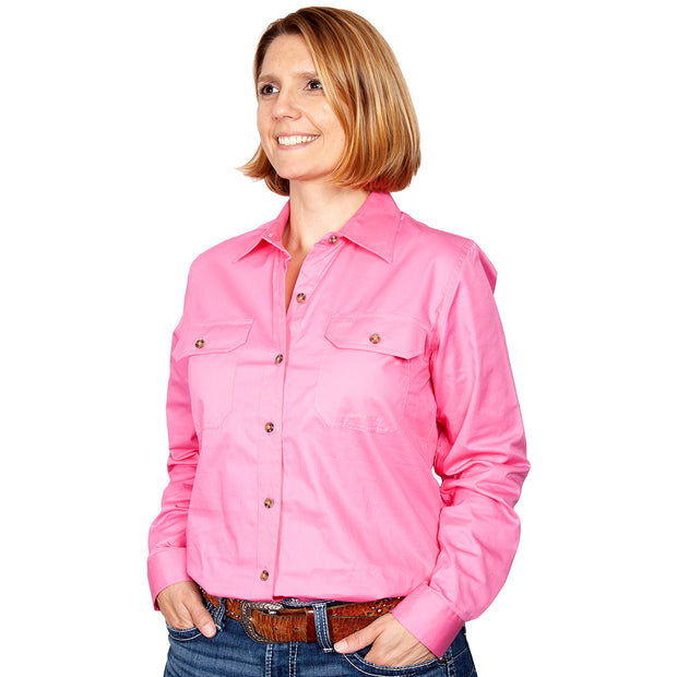 Just Country Workshirt Women's Brooke Rose front