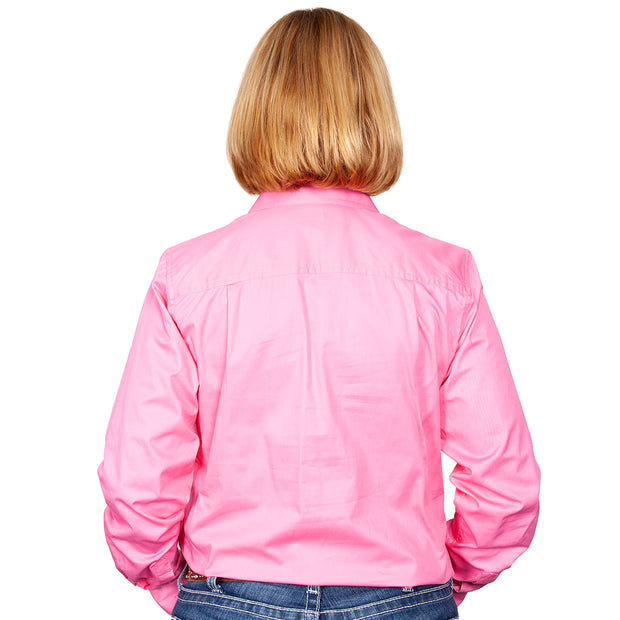 Just Country Workshirt Women's Brooke Rose back