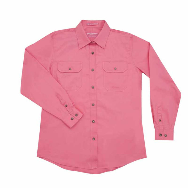 Just Country Workshirt Women's Brooke Rose