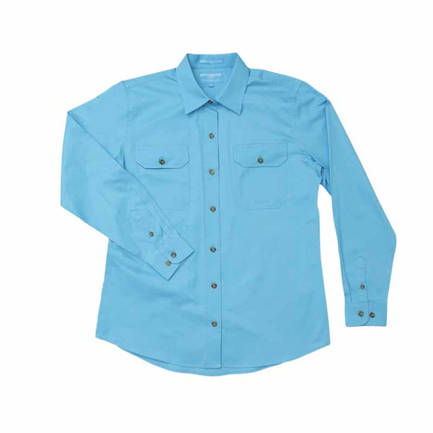 Just Country Workshirt Women's Brooke Sky