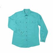Just Country Workshirt Women's Brooke Turquoise