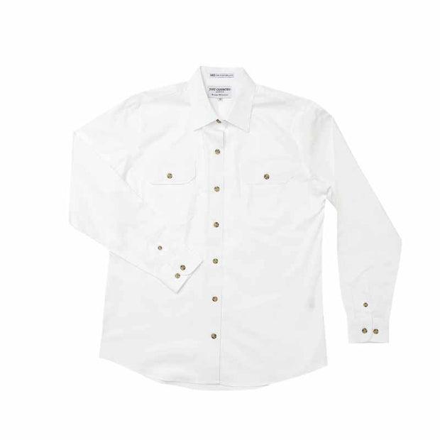 Just Country Workshirt Women's Brooke White