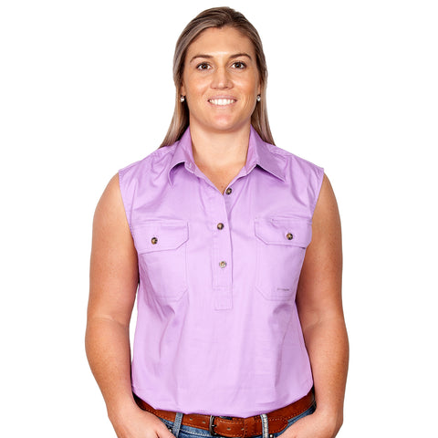 Just Country Workshirt Women's Kerry Orchid front