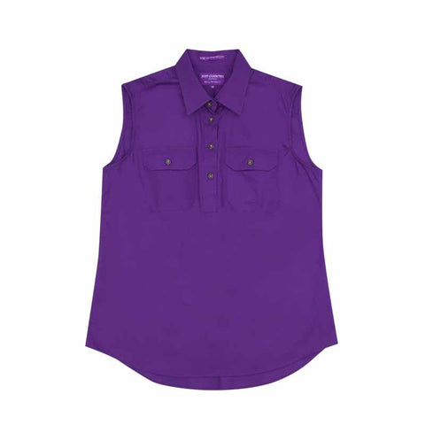 Just Country Workshirt Women's Kerry Purple