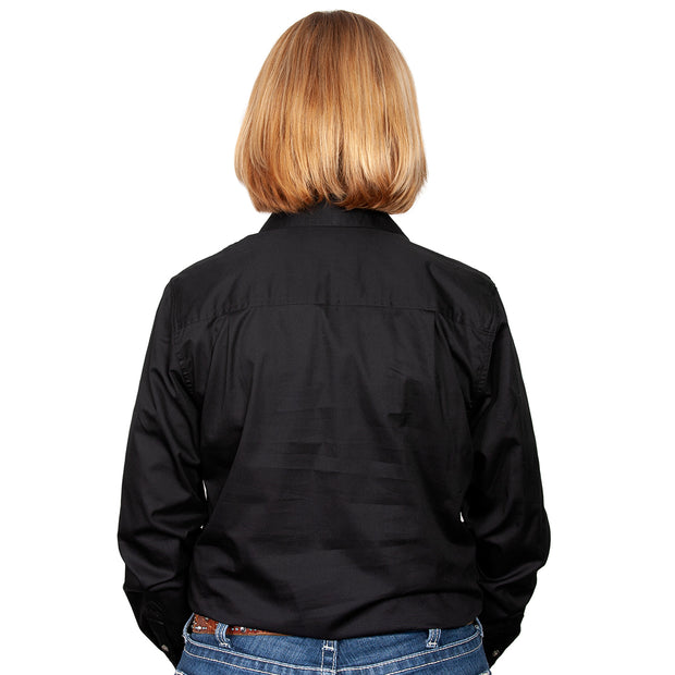 Just Country Workshirt Women's Jahna Black back