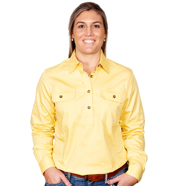 Just Country Workshirt Women's Jahna Butter front