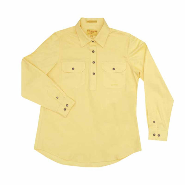 Just Country Workshirt Women's Jahna Butter