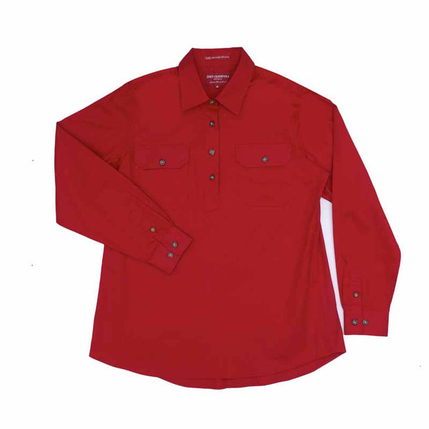 Just Country Workshirt Women's Jahna Chilli