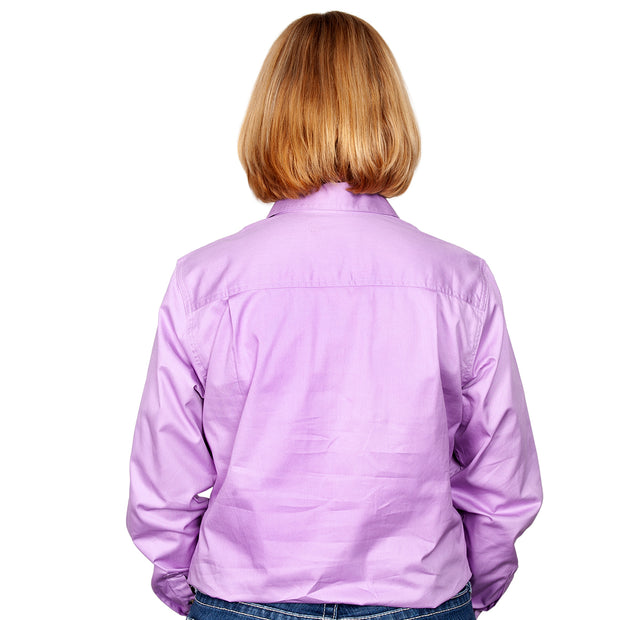 Just Country Workshirt Women's Jahna Orchid back