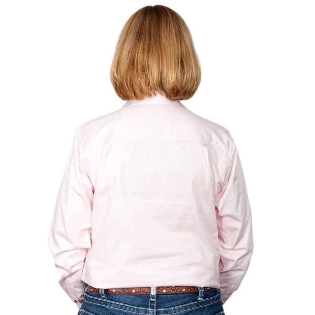 Just Country Workshirt Women's Jahna Pink back