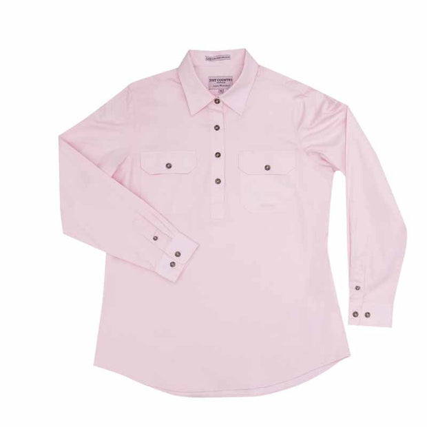 Just Country Workshirt Women's Jahna Pink