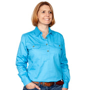Just Country Workshirt Women's Jahna Sky front