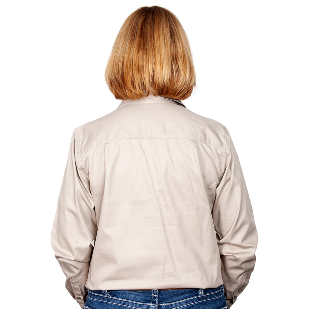 Just Country Workshirt Women's Jahna Stone back