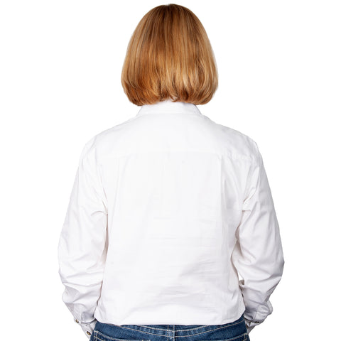 Just Country Workshirt Women's Jahna White back