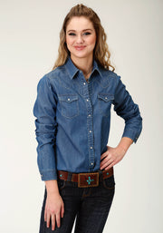Roper Women's - Five Star Collection Shirt Blue 50594034