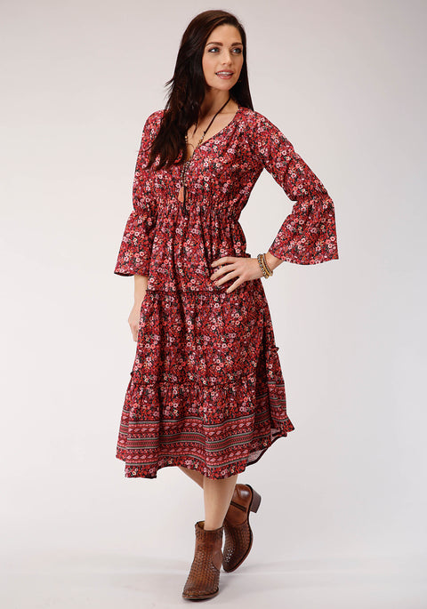 Roper Women's - Studio West Collection Dress Red 03-057-0590-7043 RE