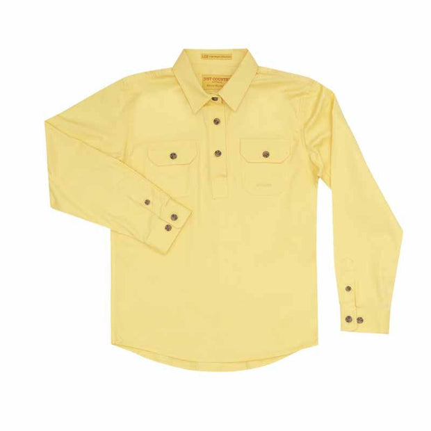 Just Country Workshirt Girl's Kenzie Butter