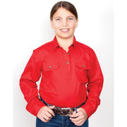 Just Country Workshirt Girl's Kenzie Chilli 60606CHI