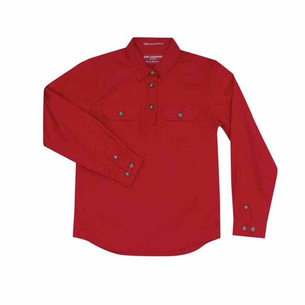 Just Country Workshirt Girl's Kenzie Chilli