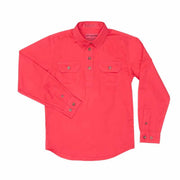 Just Country Workshirt Girl's Kenzie Raspberry
