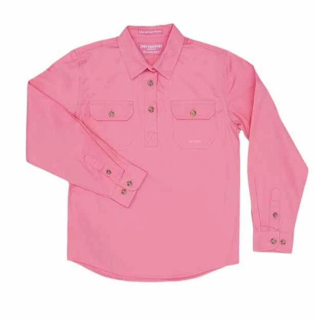 Just Country Workshirt Girl's Kenzie Rose