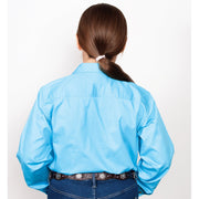 Just Country Workshirt Girl's Kenzie Sky 60606SKY back