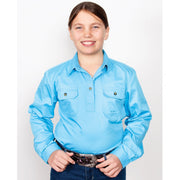 Just Country Workshirt Girl's Kenzie Sky 60606SKY