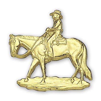 Montana Silversmiths Buckle Figure Pleasure Horse