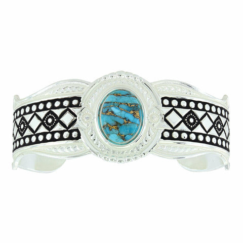 Montana Silversmiths Phases Of The World Cuff Bracelet BC3354