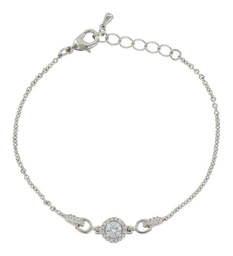 Halo and Horseshoes Bracelet BC3808