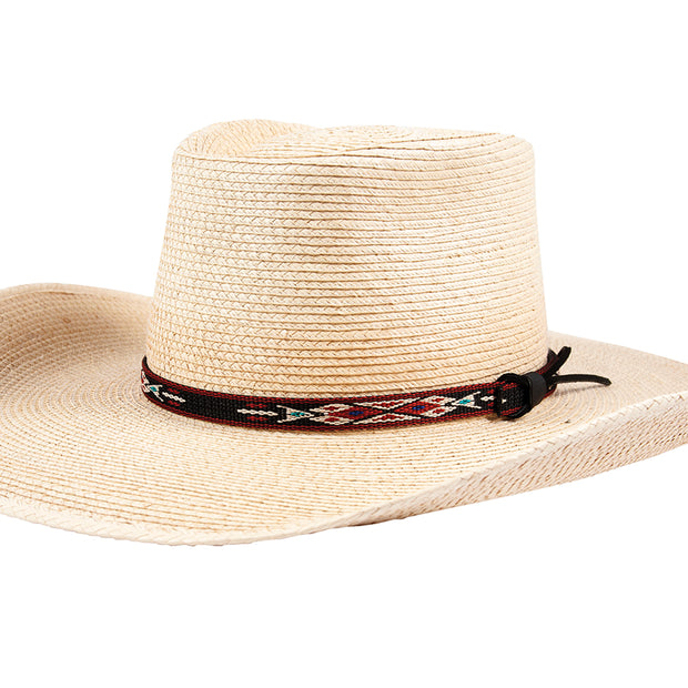 "Sunbody Hat Band Hitched Web 1/2"" Black Diamond"