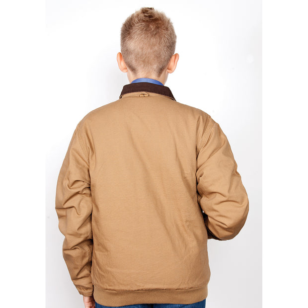 Just Country Boys Diamantina Jacket Khaki BWOJ1200 back