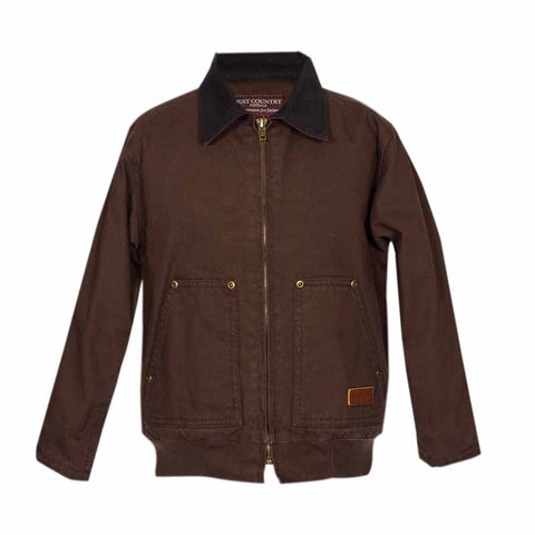 Just Country Boys Diamantina Jacket Chocolate