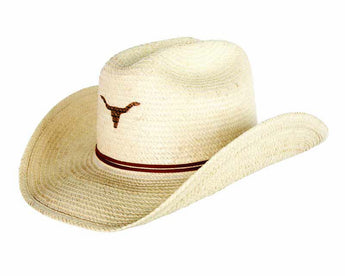 Sunbody Hats Kids Single Longhorn Cattleman Natural