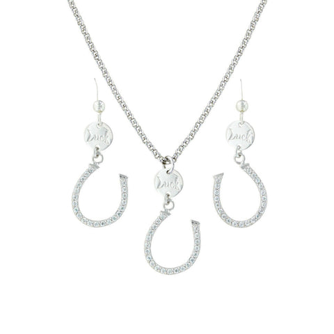 Montana Silversmiths Capturing The Luck Jewellery Set JS3376