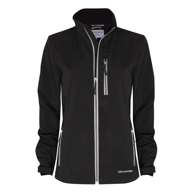 Just Country Francis Softshell Jacket Black WCOJ1913