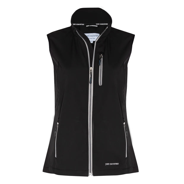 Just Country Francis Softshell Vest Black WCOV1913