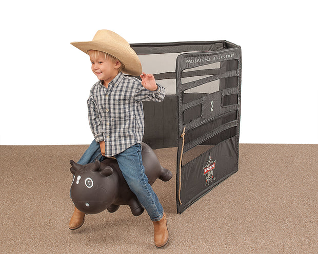 Big Country Toys PBR Chute 458 with Lil Bucker