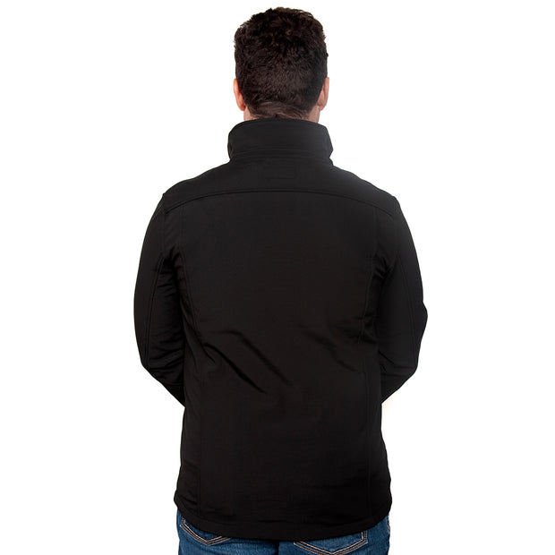 Just Country Men's - Geoffrey Softshell Jacket Black MCOJ1913 back