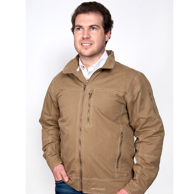 Just Country Joshua Jacket Khaki MCOJ1914
