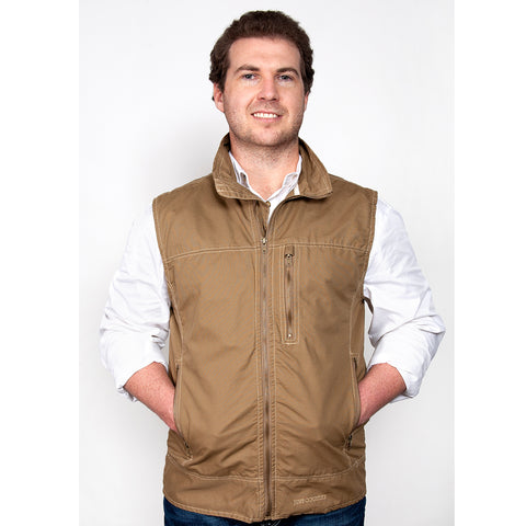 Just Country Joshua Vest Khaki MCOV1914