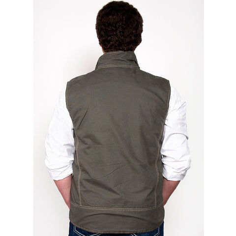 Just Country Joshua Vest Slate MCOV1915 back