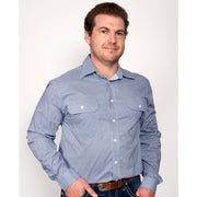 Just Country -Men's - Austin - Full Button - Blue MWLS1944