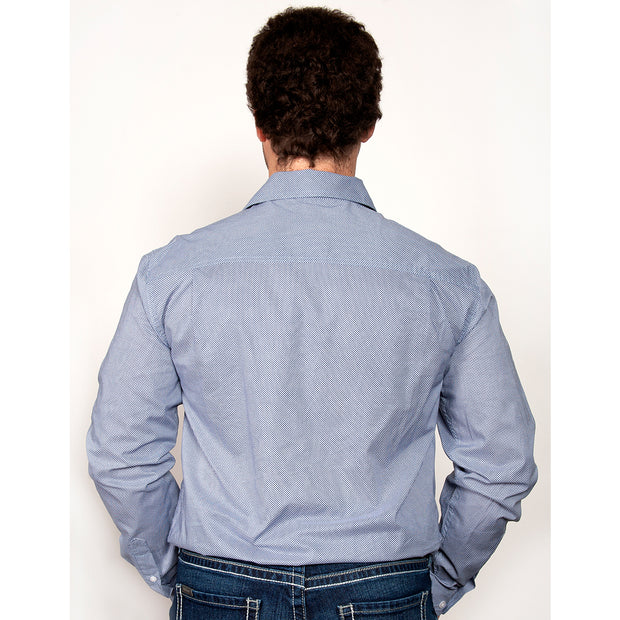 Just Country -Men's - Austin - Full Button - Blue MWLS1944 back