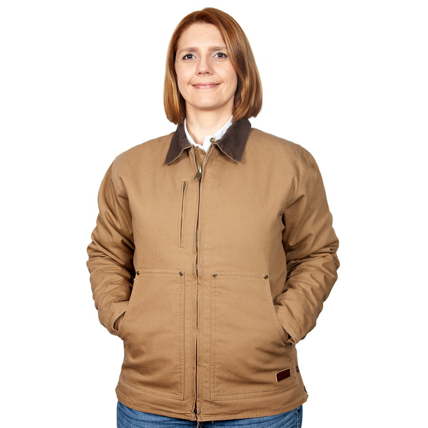 Just Country Diamantina Jacket Khaki MWOJ1914 Women